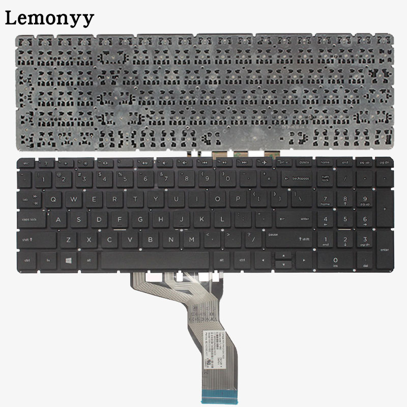 US laptop keyboard for HP 15-BS 15-CD 250 G6 255 G6 256 G6(only keyboard) English цена
