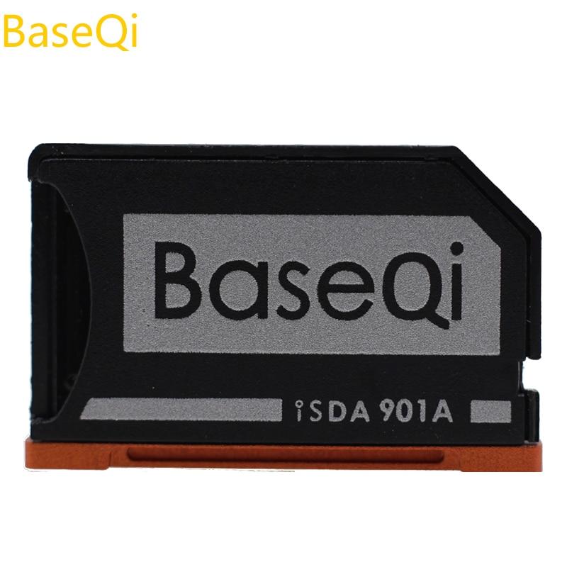 BaseQi de aluminio Ninja sigiloso coche Mini Drive, TF, adaptador de tarjeta para Lenovo Yoga900/Yoga710/Yoga720/ideapad