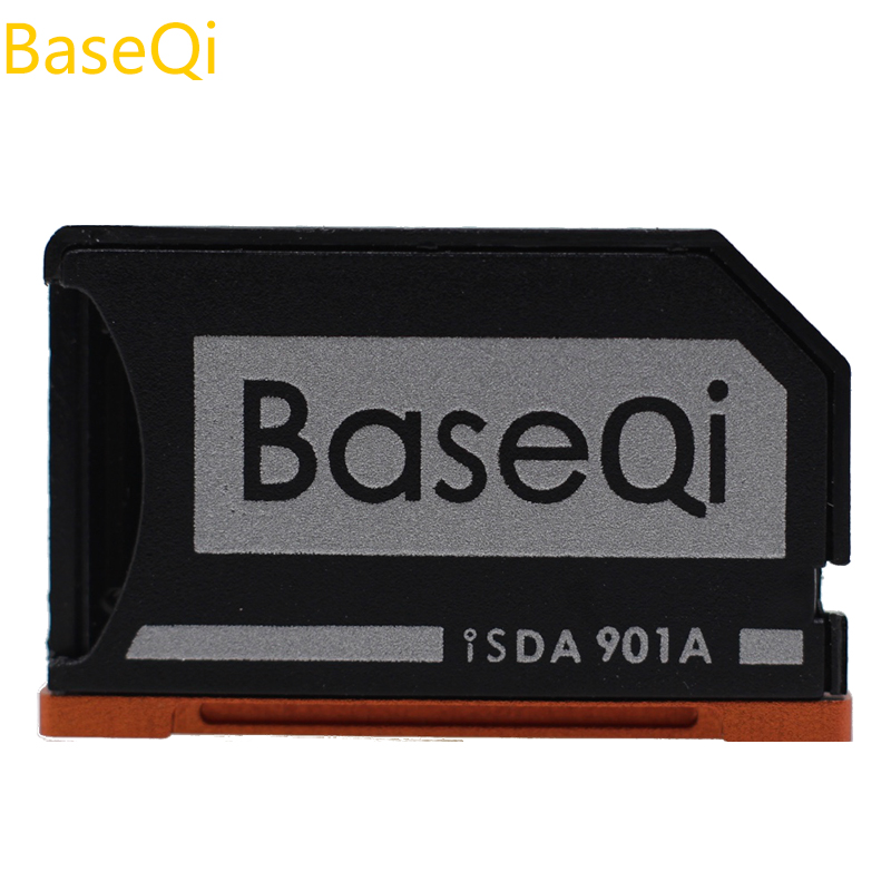 BaseQi Laptop Accessories Aluminum Frame Stealth Drive Flash Capacity Expansion SD Card Reader For Lenovo Yoga900 / Yoga710