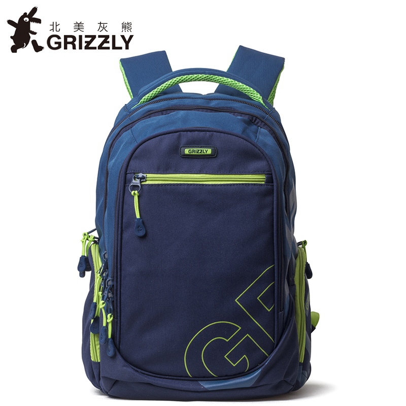 GRIZZLY New Fashion Men Backpack Casual Mochila for Teenager Boys High Quality Waterproof Multifunction School Bags Travel Bag men backpack student school bag for teenager boys large capacity trip backpacks laptop backpack for 15 inches mochila masculina