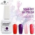 Saviland 58 Colors Nail Gel Varnish Semi Permanent Soak-off Gel Nail Polish 15ml/pcs UV LED Gel Nail Art Tools