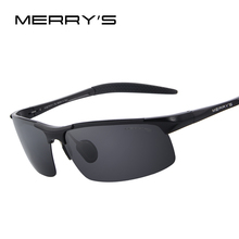 MERRY'S Brand Aluminum Magnesium Polarized Sunglasses Driver SunglassesUV400