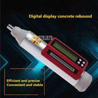 New HD 225C Digital Display Mechanical Hammer Concrete Strength Tester Concrete Rebound Instrument + Carbonization Depth Ruler