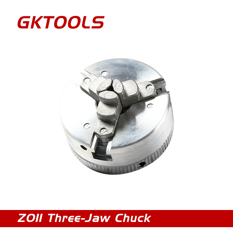 GKTOOLS Three-Jaw Chuck,Clamping Diameter 1.8~56mm / 12~65mm, Z011 four jaw chuck clamping diameter 1 8 56mm 12 65mm speciel for the mini lathe z011a