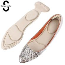 1Pair Sponge High Heel Shoes Insert Cushion Pads Non-slip 2 in 1 Arch S