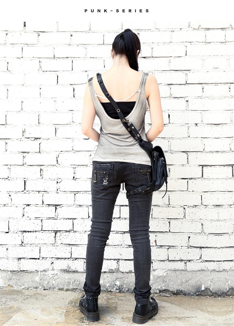 de ombro mensageiro bolsa de couro multi-função