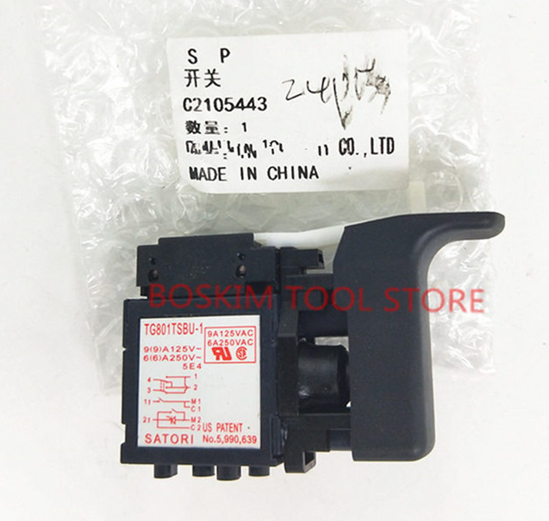 SWITCH For Hitachi 335796 DH24PD3 DH24PC3 DH24PB3 DH22PH DH22PG Rotary Hammer