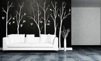 Simple Style Art Wall Sticker Nursery Tree Special Pattern Cute Designed Wall Murals Home Livingroom Vinyl Wall Poster Wm 584