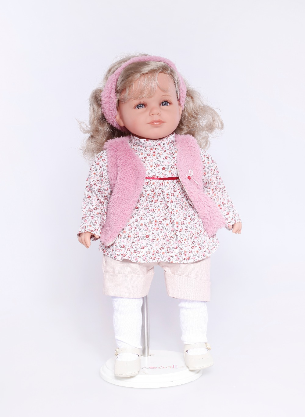 NPK reborn doll with soft real gentle touch lifelike doll soft silicone vinyl truely real free-shipping beautiful doll