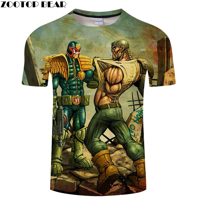 Punisher Anime T Shirt Fitness Breathable Tops Quick Dry Male 3D Print Tee Summer Casual Gyms Brand Shirts Drop Ship ZOOTOPBEAR