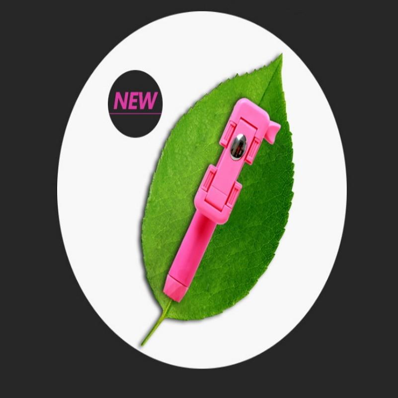 Universele Mini Handheld Monopod Bedrade Selfie Stick Uitschuifbare - Camera en foto - Foto 3