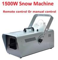 DHL/UPS 1500 Вт снегоуборочная машина специальный эффект этапе оборудования Snowmaker спрей снег Мыльная Пена эффект машины DJ KTV свадебный Бар Вечерн