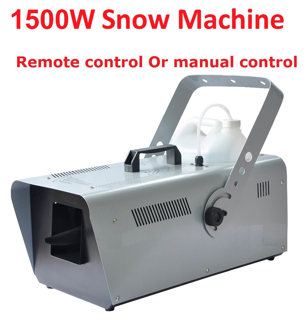 DHL/UPS 1500W Snow Machine Special Stage Effect Equipment Snowmaker Spray Snow Soap Foam Effect Machine DJ KTV Wedding Bar Party цены онлайн