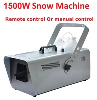 DHL/UPS 1500W Snow Machine Special Stage Effect Equipment Snowmaker Spray Snow Soap Foam Effect Machine DJ KTV Wedding Bar Party