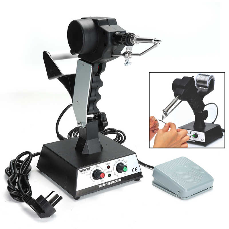 220V Rework Station SMD Hot Air G un Soldering Irons Preheating Station Functions AC Rework Dominating Station yihua 1000b 3 functions in 1 infrared bga rework station smd hot air gun 75w soldering irons 540w preheating station 110v 220v