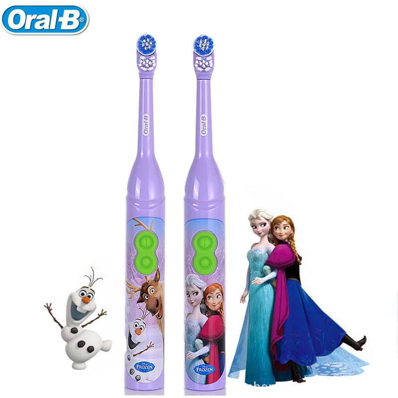 Children Electric Toothbrush Protect Baby Teeth Rotating Gum care Oral B Electric Toothrush for Kids 3+ image