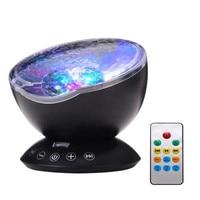 Fal Oceanicznych Starry Sky LED, Noc, Lekki Projektor LED Kostium Nowość Lampa Lampa Nightlight USB Illusion Dla Dziecka Dzieci