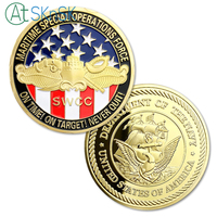 Free Shipping 50/100pcs/lot Maritime Special Operations Force USN SWCC Challenge Coin Wholesale Souvenir Gifts