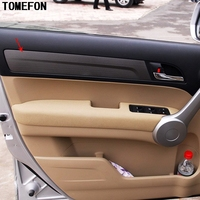 TOMEFON For Honda CRV 2007 2008 2009 2010 ABS Special Paint Inner Door Side Handle Styling Trim Panel Cover 4pcs/set