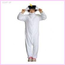 EIGHT UP Flannel Fish Pajamas Unisex Sleepsuit Adult Onesies Cartoon Cosplay Costumes Animal Sleepwear Party Clothing
