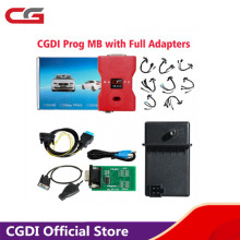 CGDI Prog Car Key Programmer for MB Benz Support All Key Lost with Full Adapters for ELV Repair