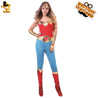 DSPLAY Original Purim Festival Wonder Woman Party Costumes Hero Woman Cosplay Fancy Dress Roleplay Movie Outfits