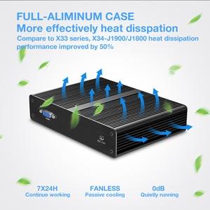 Image 5 - XCY Mini PC Fanless Intel Celeron J1900 Quad Core 4x Gigabit LAN Ports Intel i211 NIC Gateway VPN Router firewall Appliance