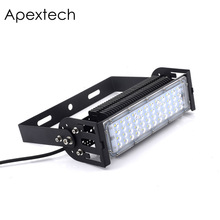цена Apextech Osram LED Projector Flood light 50W 100W 150W 200W High Quality Floodlight IP65 AC85-265V Outdoor wall lighting lamp