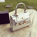 ladies lock messenger bags silver alligator leather chain handbag shoulder satchel crossbody women gold mini small bag bolsa pu