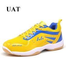 Eur 36-45, zapatillas de moda de buena calidad para los amantes de los hombres de diseño de la marca de cuero pu Bádminton zapatos de mujer zapatillas de deporte profesionales hombres