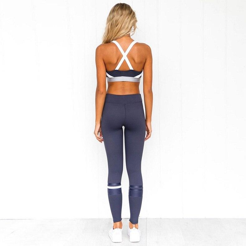 Conjuntos de yoga conjuntos de roupas de