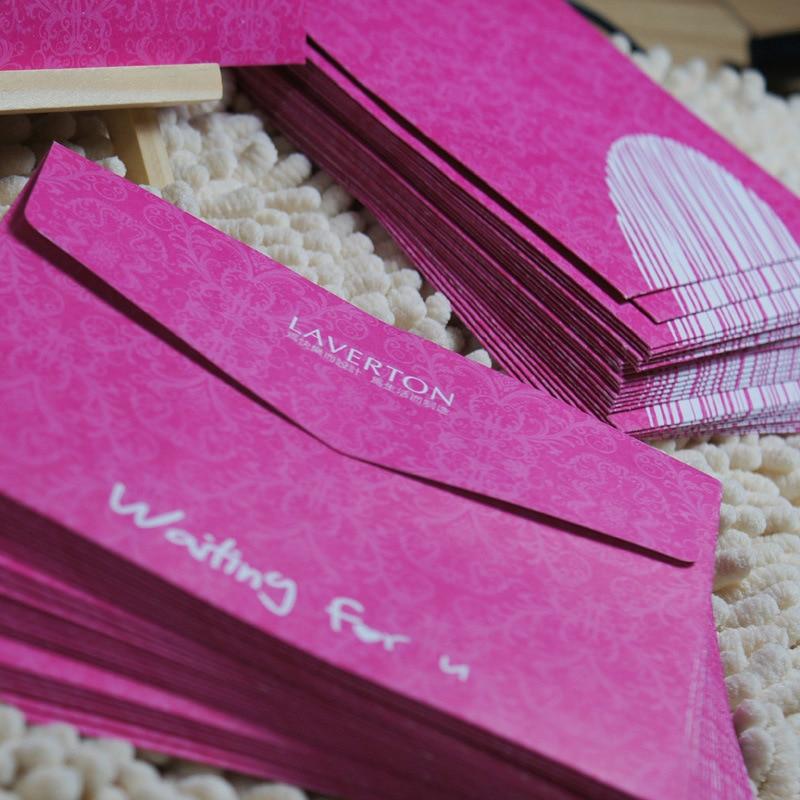 50 Pcs/lot 110*150mm 4 Styles Black Korea Europe Advanced Archives Envelope Romantic Wedding Invitation CARDS Color Postcards