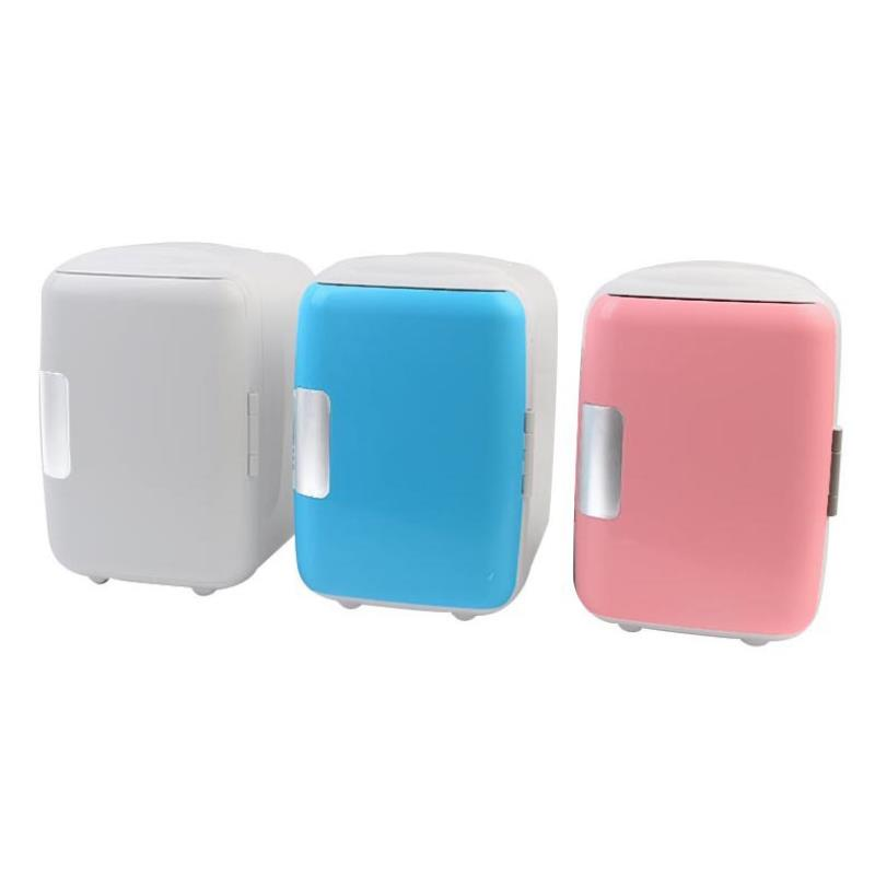 4L Portable Car Fridge Freezer Cooler Warmer 12V 220V For Car Mini Camping Refrigerator Outdoor Refrigerator Home Car Use