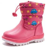 Tree Wrasse Girls Children Snow Boots Winter Girls Cotton Boots Boys Thickening Warm Cotton Shoes Non