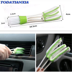Car Air Outlet Vent Brush Interior Accessories FOR subaru vw caddy bmw m4 opel insignia astra h vw golf 7 bmw x5 e90 e60 e87(China)