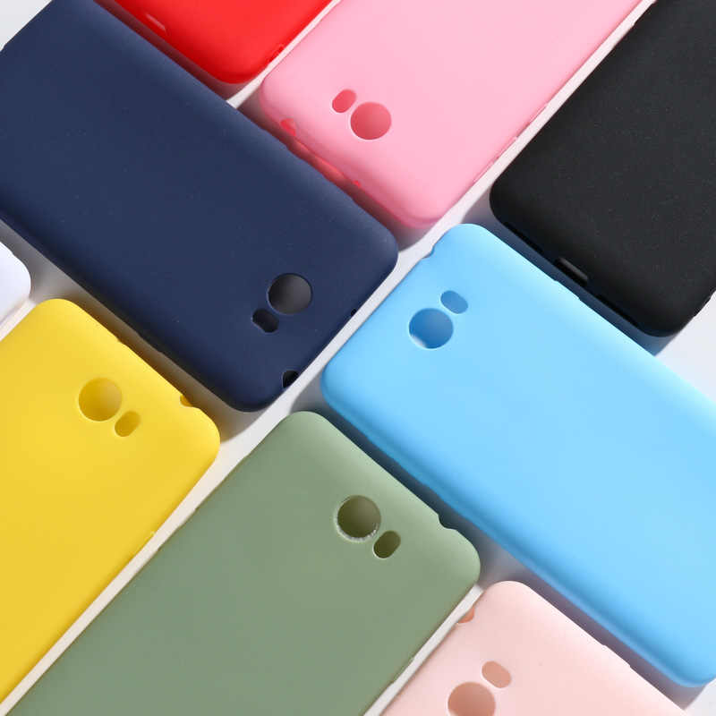 for Huawei Y5 II Y5II Y5 2 Case For Huawei Honor 5A Phone Case 5.0'' Candy Silicone Cover For Huawei Honor 5A LYO-L21 CUN-U29