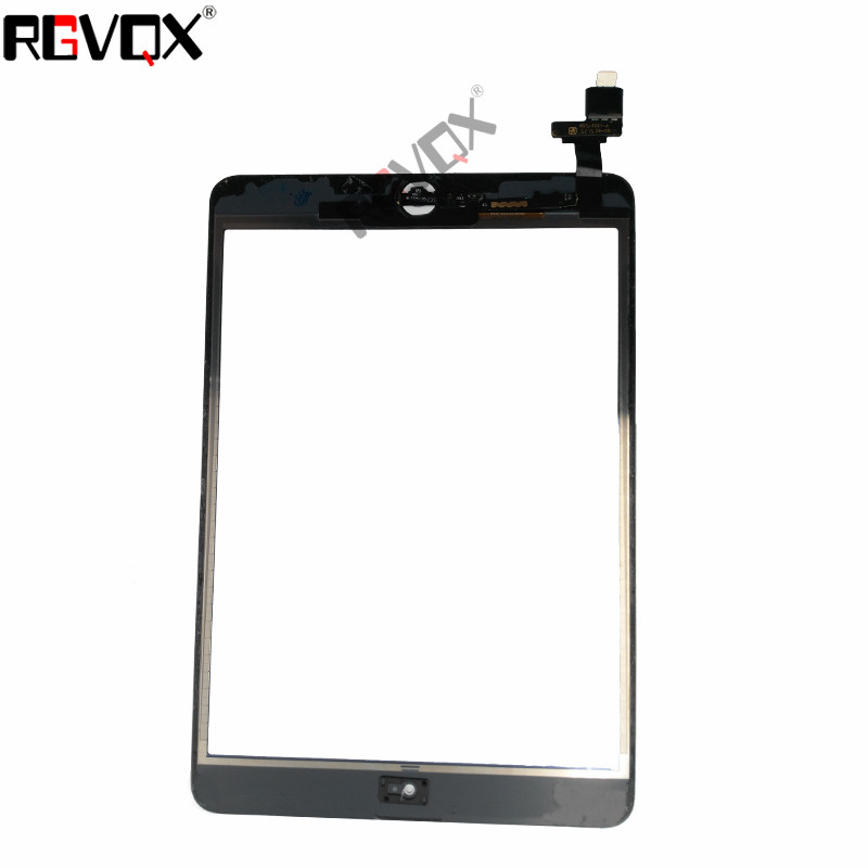 White/Black New For IPad Mini 2 A1489 A1490 A149 Touch Screen Digitizer Assembly With Home Button And Adhesive