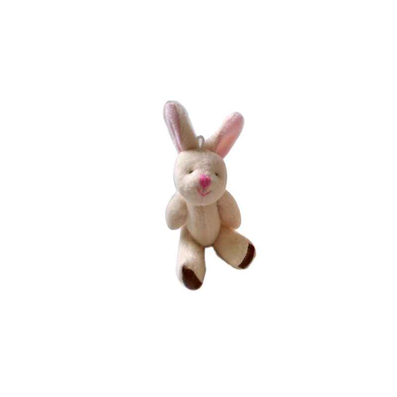 1 pc Cute Cartoon Soft Plush Rabbit Doll Backpack Pendant Baby Stroller Hanging Crib Tent Decor Ornaments Kids Toys Gift