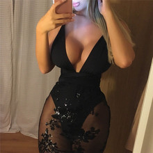 New Arrival Sexy Women Mesh Dress Lace Floral Ladies Sexy Evening Party Package