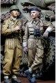 Масштабные модели 1/35 WW2 британские солдаты в второй мировой войны смола модель бесплатная доставка