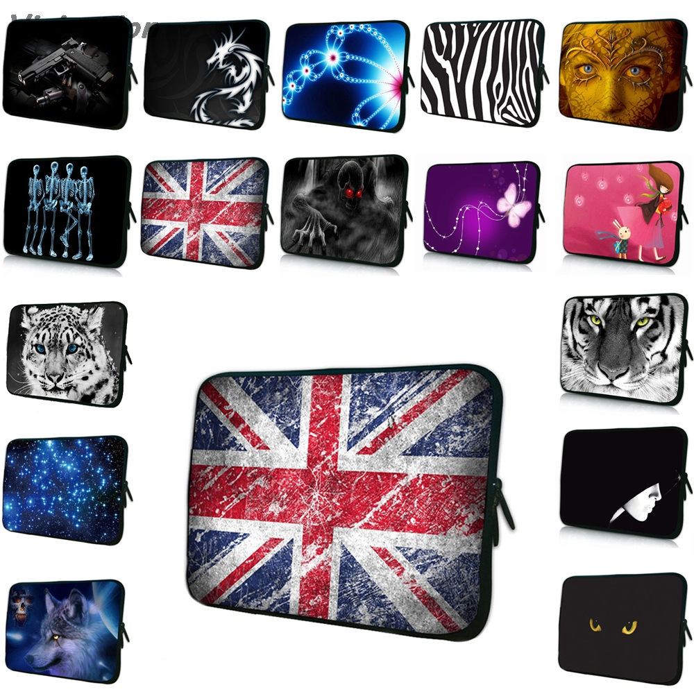 Viviration Mens Womens New Sale Notebook Bag Fashion 7/10/12/13/14/15/17 Laptop Sleeve Duo Zippers Cover Case Shockproof Pouch