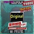Бесплатная Доставка цпу intel ноутбук Core 2 Duo T9800 CPU 6 М Кэш/2.93 ГГц/1066/Двойной Core Socket 479 процессор Ноутбука forGM45 PM45