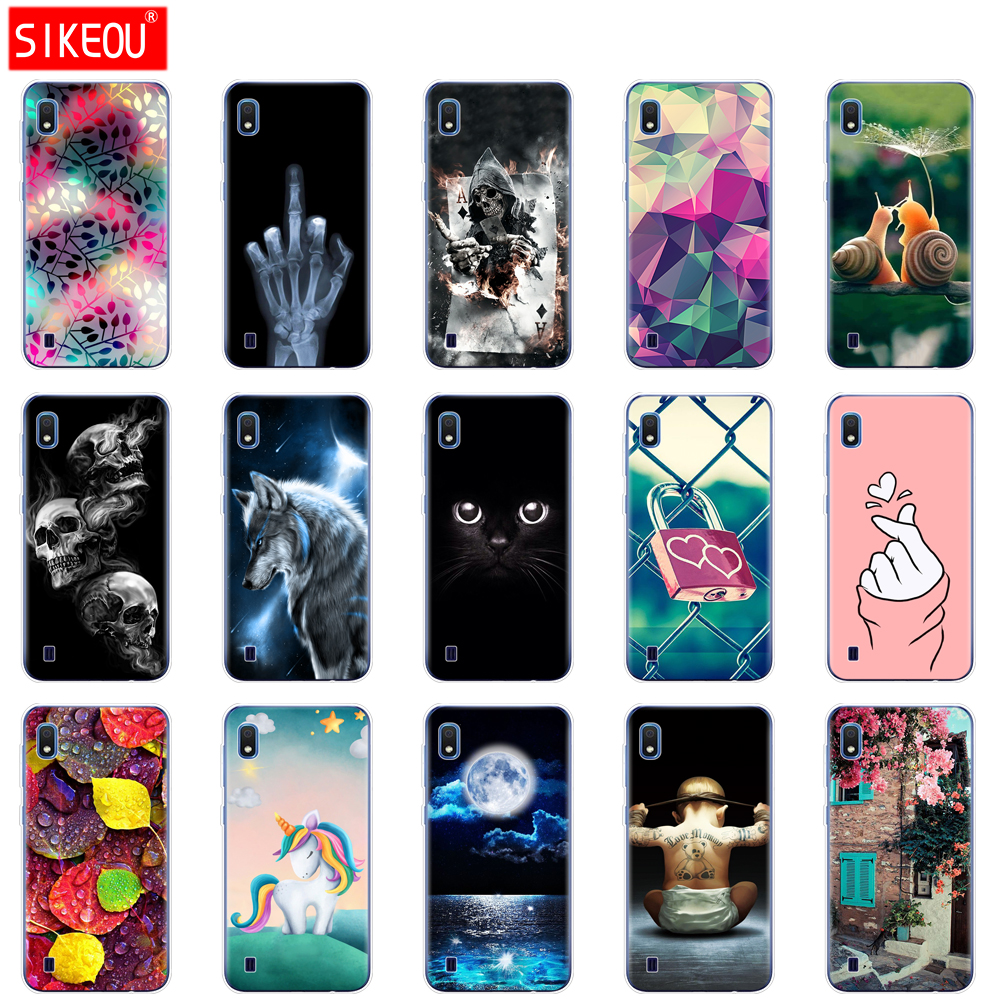 Case For Samsung A10 Case Soft Silicone Back Cover Phone Case For Samsung Galaxy A10 GalaxyA10 A 10 SM-A105F A105 A105F cartoon dial vision adjustable lens eyeglasses