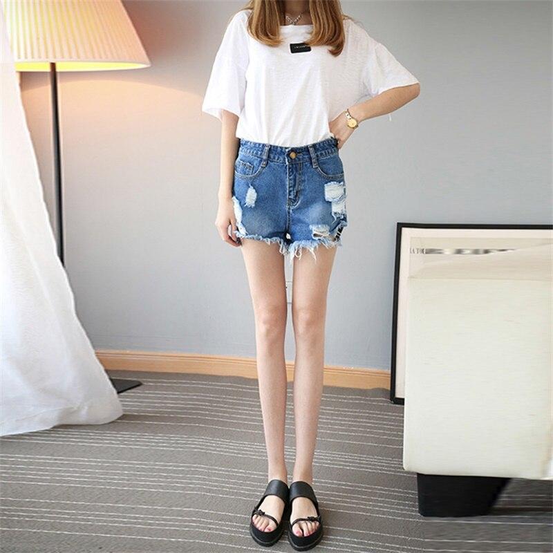 Pantalones cortos de cintura alta de verano Pantalones cortos de - Ropa de mujer - foto 5