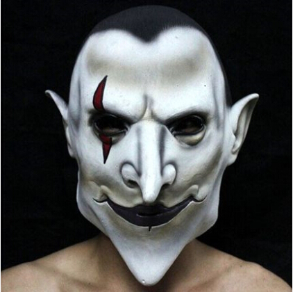Children's day, Halloween mask terrorist hell earl latex mask Carnival masquerade mask hell earl Halloween supplies