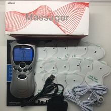 10pcs Silver Dual input Slimming Digital therapy health Care