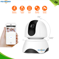 Wireless IP Camera Support P2P and Alarm, Pan Title turn Two Way Audio TF card memory storage Security WIFI Camera AS IPC603MH