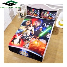GOANG bedding sets bed sheet duvet cover pillow case 3d digital printing Cartoon Star Wars 3pcs california king