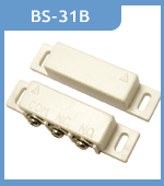 BS-31B NO&NC Wired Door Window Contact Magnetic Sensor Reed Switch Alarm For Alarm System 5pcs adhesived security door window magnetic contact reed switch no