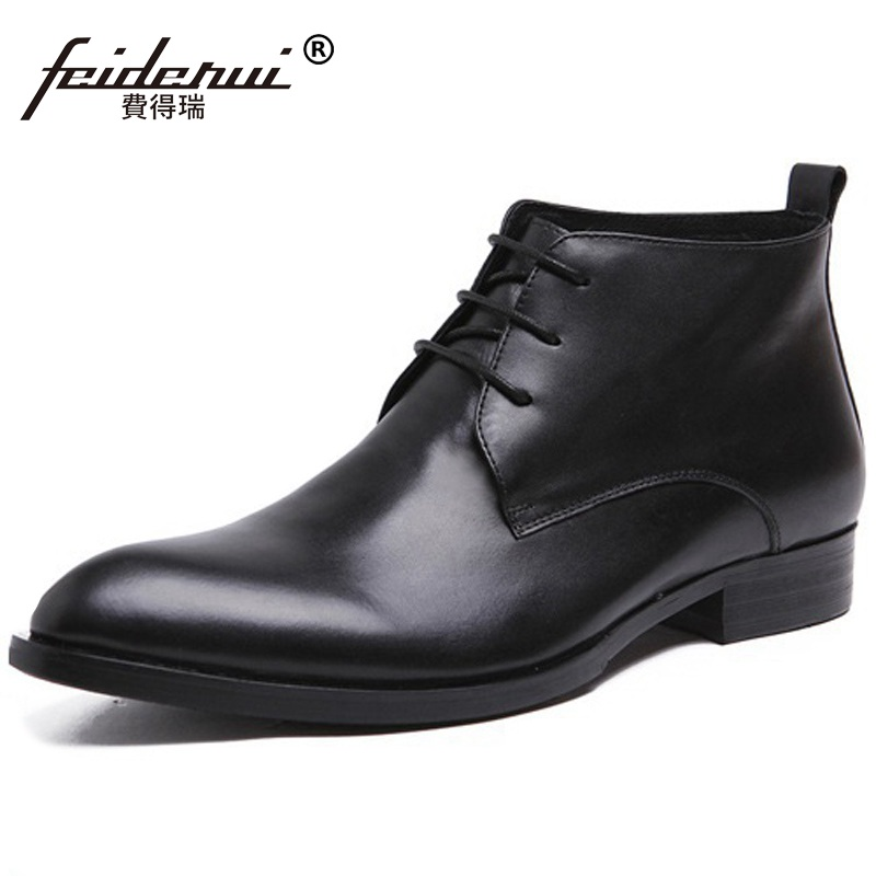 Classic Handmade Man Round Toe Dress Shoes Designer Brand Genuine Leather Footwear Mens  Motorcycle Ankle Boots HD74Classic Handmade Man Round Toe Dress Shoes Designer Brand Genuine Leather Footwear Mens  Motorcycle Ankle Boots HD74